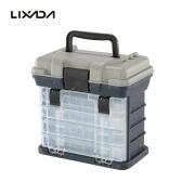 Lixada Universal Water Resistant Fishing Box Sea Boat Fishing Tackle Accessory Box Case Utility Box