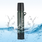 TOMSHOO 1500L Water Filter Straw Purifier Outdoor Emergency Survival Gear Camping Hiking Traveling Filtration Straw