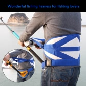 Big Fish Sea Fishing Fighting Stand Up Back Harness with Belt Fishing Tackles