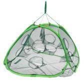 75 * 75 * 45 cm 8 穴自動オープン エビ ロブスターの釣り餌のトラップは、生簀をキャスト