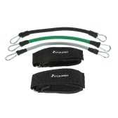 KYLIN SPORT Professional Heavy Resistant Band Rope Tube Set Resistance Training Set with Ankle Strap Adjustable Leg Training Exercise Tubing TPR Resistance Bands Rope Carrying Pouch