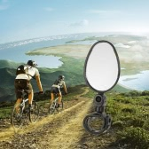 Bike Bicycle Rearview Mirror 360 Rotating Adjustable Wide Angle Universal Cycling Handlebar Rear View Mirror