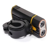 Super Bright Bicycle Light USB Rechargeable 800 Lumens Headlight Front Light Easy Installation Cycling Flashlight