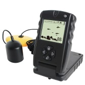 LUCKY 100FT Wired Fish Finder Monitor DetectorポータブルソナーフィッシュファインダーDepth Echo Sounder