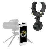 Eyeskey Spotting Scope Adapter Phone Mount Holder Compatible with Telescope Spotting Scope Binoculars Monocular