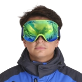 TOMSHOO OTG Winter Snow Sports Ski Goggles