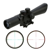 3.5-10X40E Illuminated Tactical Riflescope Red Green Dot Reticle Sight Scope