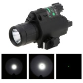 Full Metal Tactical Sighting LED Flashlight with 3 Mode Tail Switch