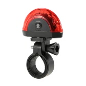 Cycling Bicycle Bike Light Beam Rear Back Taillight LED Caution Safe Lamp