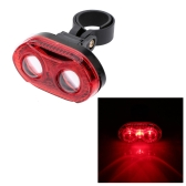 Cycling Bike Bicycle Super Bright 3 LED Rear Tail Light 3 Modes Lamp