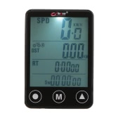 Multifunctional Touch Button LCD Bicycle Computer Odometer Speedometer