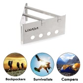 Lixada Portable Stainless Steel Outdoor Cooking Picnic Lightweight Wood Stove