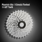 MTB Mountain Bike Bicycle 9S Cassette Flywheel 9 Speeds Flywheel 11-32T Teeth Crankset Cycling Part