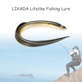 Lixada 1Pc 29.5cm/59g Simulation Fihsing Lure Swim Eel Artificial Lure Tackle Soft Bait Lifelike Smell Lure