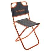 Portable Folding Chair Outdoor Fishing Camping Beach Picnic Barbecue Chair Lightweight Foldable Chair with Backrest