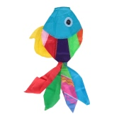 70センチメートル長多色3D凧かわいい魚型カイトフライテールカイトテイルスリップストップセイルカイトアクセサリー