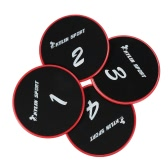 KYLIN SPORT Workout Gliding Discs Glide Exercise Core Slider Cross Training Abdominal Workout Core Sliding Disc