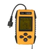 ボート釣り氷釣りのためのポータブル有線魚群探知機のLCDディスプレイ有線ソナーセンサートランスデューサーとの魚群探知機の魚場所ディテクタ