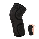 WOSAWE 1pc Elastic Compression Knee Brace Cycling Running Hiking Outdoor Sports Fitness Knee Sleeve Pad Support Guard
