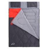 ダブル寝袋冬暖かい屋外キャンプ旅行ハイキング寝袋大寝袋