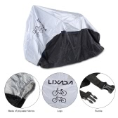 Lixada 180T Polyester Fabrics Bicycle Cover Foldable Durable Bike Cover for 2 Bikes with a Storage Bag