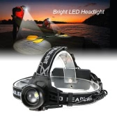 Super Bright 400 Lumen Headlight Headlamp Flashlight Torch 135°Up-and-down Rotating Head Lamp for Running Reading Cycling Camping