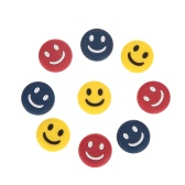 Smiley Tennis Racket Shock Absorber Vibration Dampeners for Tennis Badminton Racquetball Squash Pack of 9