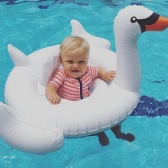 80*105*60cm Swim Swan Toddler Baby Pool Toy Inflatable Boat Floats Floating Swan Raft for Small Kids
