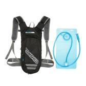 TOMSHOOハイドレーションパックバックパック2Lブラッダー付きランニングハイキング用キャンプサイクリングクライミングアウトドア自転車&バイクスポーツバックパックウォーターバッグリュックサックデイパック