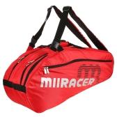 6 Racquet Bag Badminton Tennis Racket Bag Backpack Racket Storage Bag Holder