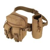 戦術的なMolleのバッグウエストバッグファニーパックハイキング釣り狩猟ウエストバッグ戦術的なスポーツヒップベルトバッグアウトドア旅行軍事機器ギア