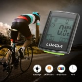 Lixada Multifunctional 2-in-1 Wireless LCD Bicycle Cycling Computer Speed Cadence Water-resistant