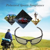 Lixada Polarized 100% UV Protection Glare Eliminating Sports Sunglasses Sun Glasses for Cycling Riding Camping Hiking Running Golf