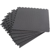 6 Pcs 60*60cm Protective Floor Mat Anti-Fatigue Interlocking EVA Foam Exercise Gym Flooring Carpet Cushion