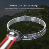 USB 3000LM LED Outdoor Headlamp Headlight LED Flashlight Head Light Lamp for Cycling Camping Fishing