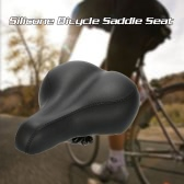 MTB Mountain Bike Bicycle Cycling Silicone Skidproof Saddle Seat Silica Gel Cushion Seat Bicycle Saddle