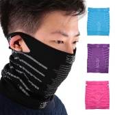 Cycling Face Mask Winter Warm Breathable Windproof Skiing Bike Bicycle Cycling Sports Half Face Mask Neck Scarf Balaclava Headband with Ear Holes