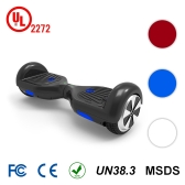 CHIC 6.5 inch 2 Wheels Self Balancing Smart Electric Scooter-Black
