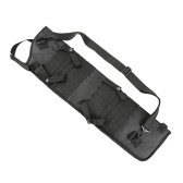 Outdoor Hunting Tactical Storage Scabbard Sheath Storage Bag Shoulder Bag Case MOLLE Strap with Carrying Handle