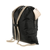 12L Sturdy Lightweight Foldable Water Repellent Outdoor Backpack Cycling Backpacking Travelling Hiking Bag Daypack Stuff Sack Drawstring Closure Frameless