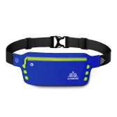 AONIJIE Reflective LED Runner Waist Pack USB Running Fanny Pack with Headphone Hole Adjustable for iPhone 6 Plus