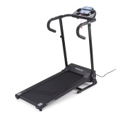 TOMSHOO 1100W Motorized Folding Electric Treadmill Running Jogging Machine Home Gym Fitness Machine with Heart Rate Monitor Mobile Phone Holder