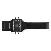 Phone Armband Open Face Running Arm Band Phone Holder for Workouts with Key Holder Cable Locker