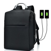 Business Laptop Travel Backpack with 2 USB Plug Charging ports