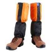 Adult Outdoor Waterproof Gaiters Windproof Fleece Leg Protection Guard Ski Snowboard Skiing Hiking Climbing