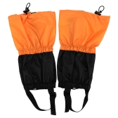Kid Children Outdoor Waterproof Gaiters Windproof Fleece Leg Protection Guard Ski Snowboard Skiing Hiking Climbing