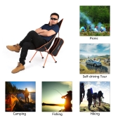 TOMSHOO Ultra Lightweight Folding Portable Outdoor Camping Hiking Fishing Chair Lounger Chair