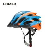 Lixada 25 Vents Super Lightweight Protective Bicycle Mountain Bike Road Bike Helmets for Cycling Mountain Racing Skateboarding Roller Skating Adjustable
