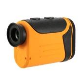 Outdoor Compact 8X Laser Rangefinder Golf Detector Range Finder Distance Meter Measurer Hunting Monocular Telescope LCD Display