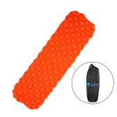 Outdoor Inflating Sleeping Pad Cushion Mattress Rectangle Backpacking Camping Travel Air Support Cell Inflatable Sleeping Pad